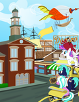 Bronycon 2014 - 'Visit Baltimore' Conbook Ad by masemj