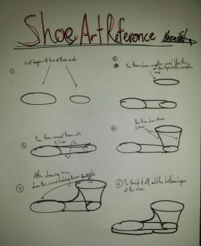 Shoe Art Reference by RandyGamer35