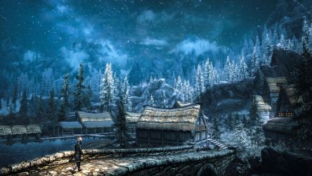 Morthal - Skyrim by WatchTheSkies45