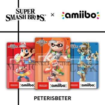 Super Smash Bros. Switch Amiibo by PeterisBeter