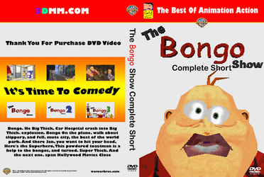 DVD Cover The Bongo Show Complete Short by Yarkov