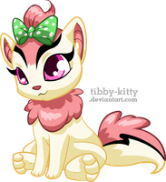 Cherry the Baby Xweetok by Tibby-Kitty
