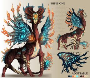 ADOPTABLE Close : SHINE ONE [Auction][paypal] by SmileykittyAdopt