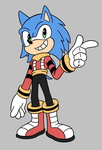 Egg Boss Sonic redesign by Dog22322