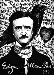 Edgar Allan Poe by magnetic-eye