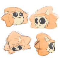 Leo Faces by LeoTheLionel