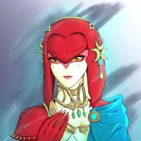 BOTW Mipha by VialEOS