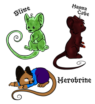 Minecraft Mice Adopts (Closed) by iNsAnE-nEkOs