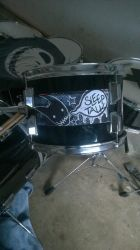 Drum Logo by Mystic-Creatues