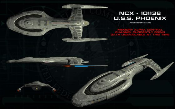 Ascension class ortho - USS Phoenix by unusualsuspex