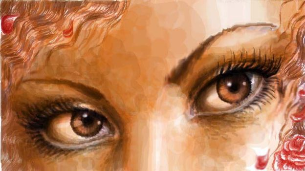 Brown brown eyes by CORinAZONe