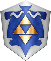 Zelda 64 beta Shield by BLUEamnesiac