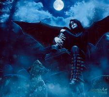 The Gaurdian of the Dead by TriZiana