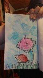 Some Roses  by mumblelynds