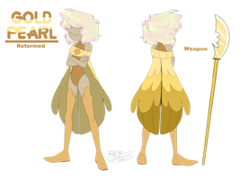 - Gold Pearl_Reformed - by PencilTree