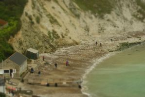 Lulworth Cove Miniature by wafitz