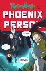 Rick and Morty: Phoenix Person by DKYingst