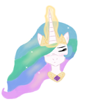 Princess Celestia Digital by MuffetMakesMuffins