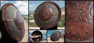 Renaissance Style Round Shield for larp by Adhras