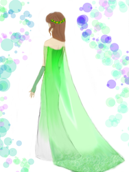 Queen of the Sea (Elsa style dress) by Sidhil