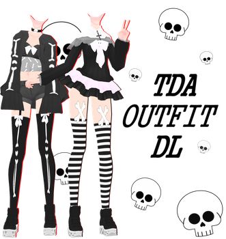 [MMD] [DL] #3 Outfits DL by Natsumy-Paradise