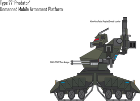 IRS Type 77 Predator Anti-Infantry Drone by Target21