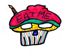 Eat Me (A Dangerous Cupcake) by almostafaegodmother