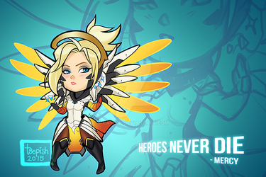 Overwatch: Mercy 2.0 by Kayley