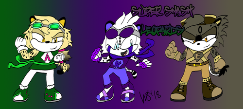 Super Smash Leopards by SUPERWILL871