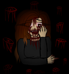 We can see you [!!!GORE!!!] by Julcsyx