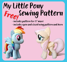 MLP Free Sewing Pattern by Fire-n-Fluff
