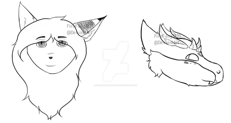 Facebook Headsketches by FireFang1331