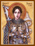 St. Joan of Arc icon