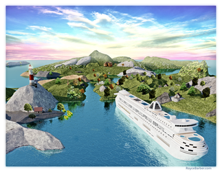 Paradise Cruise by Royce-Barber
