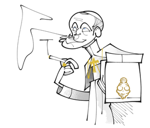 The Young Pope by eeza