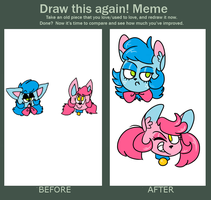 Draw this Again Memememe by UglyBirdy