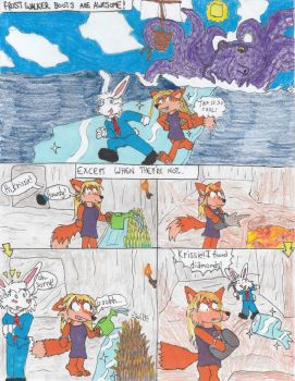 Minecraft-Frosty Fun? by tails-sama