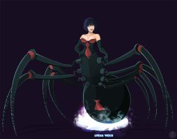 Ghostbusters - Spider Witch by DanSchoening