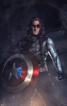 Winter Soldier - Anger Issues.. by bgzstudios