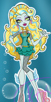 Monster High Lagoona Blue School out by Kinga-of-Queens