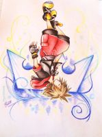 Dream Drop Distance Sora by meepspeaker