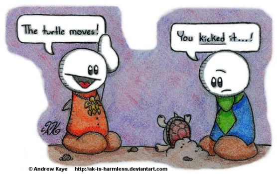 The Turtle Moves by AK-Is-Harmless