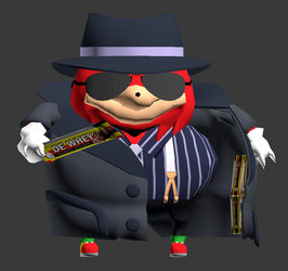 VRChat - Knuckles (Whey Bar) by Jagent-7