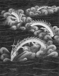 Black Water Leviathan by iceSylum
