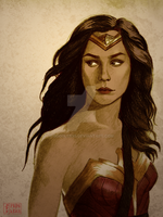 Wonder Woman by doodler95