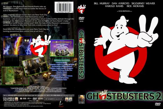 Ghostbusters II DVD Cover B by YoshioKun13