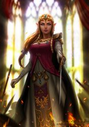 Princess Zelda by Zolaida