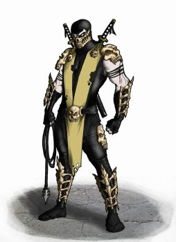 Scorpion New Design by Ronniesolano