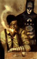 cal and the batman by Wingthe3rd