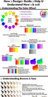 Design Tips: Color Palettes/Wheel/Placement Pt. 1 by puppsicle